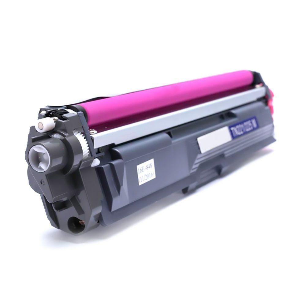 Compatível: Toner TN-221 TN-225 para Brother DCP-9020cdw HL-3140cw HL-3150cdw HL-3170cdw MFC-9130cdw / Magenta / 1.500