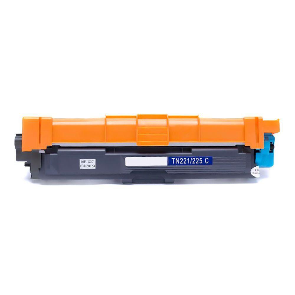 Compatível: Toner TN221 TN225 para Brother HL-3140cw HL-3150 HL-3170cdw MFC-9130cdw 9020cdw 9340cdw / Ciano / 1.500