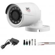 Camera de Segurança 4em1Full HD 1080p Cabo Fonte e Conectores Chd 2230p Jfl