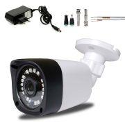 Câmera de Segurança Full Hd 1080p 2Mp Com Cabo e Fonte