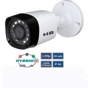 Camera Noturna Hibrida Ahd Tvi Cvi Analógica 20mts 2.8mm Hb 401