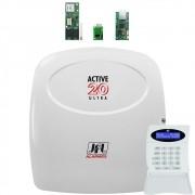 Central Active 20 Ultra com Modulo Gprs e Ethernet e Mrf 01 Jfl