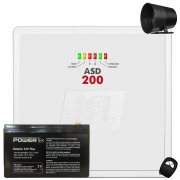 Central de Alarme Asd 200 Jfl Com Bateria e Sirene