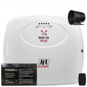 Central De Choque E Alarme Ecr 18 Plus Jfl Com Bateria E Sirene 120db