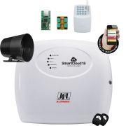 Central Smart Cloud 18 Jfl Com Modulo Ethernet e Pgm e Discadora Gsm