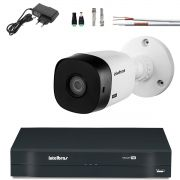 Kit 1 Camera Bullet Intelbras Hd 720p Hdcvi Vhl 1120 B