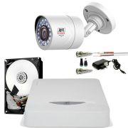 Kit 1 Câmera de Segurança Infra Full Hd 1080p 2Mp Chd 2230p Jfl Bullet