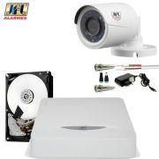 Kit 1 Camera De Segurança Jfl Hd 720p Chd 1130p Completo