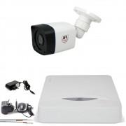 Kit 1 Camera Infra Full Hd 1080p 2Mp Bullet Externa Chd 2320p Jfl