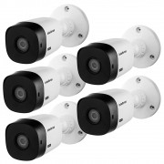Kit 5 Cameras Bullet Externa Vhl 1120 B Hd Cvi 720p Intelbras