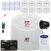 Kit Alarme Active 20 Ultra 4 Sensor Pet Ird 640 Jfl 8 Shc Fit