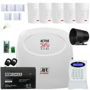 Kit Alarme Active 20 Ultra Jfl Com Sensores Irs 430i e Shc Fit