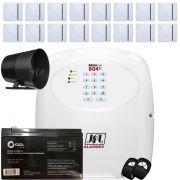 Kit Alarme Discadora Gsm Brisa Cell 804 Jfl Com Sensor Sem Fio Shc Fit Jfl