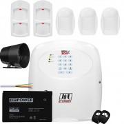 Kit Alarme Gsm Brisa Cell 804 Jfl Sensor Idr 640 e Idx 1001
