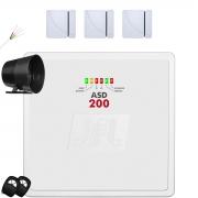 Kit Alarme Residencial Asd 200 Jfl Sem Fio Facil Instalação