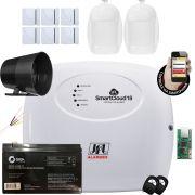 Kit Alarme Residencial Jfl Smart Cloud 18 Sensores Idx 1001 e Shc Fit