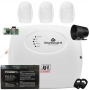 Kit Alarme SmartCloud 18 Jfl 3 Sensores Pet Ivp Idx 2001