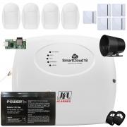 Kit Alarme SmartCloud 18 Jfl Sensor 5 Shc Fit e 4 Idx 1001 Jfl