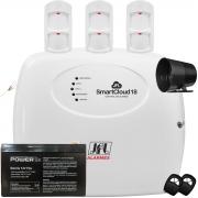 Kit Alarme SmartCloud 32 Jfl com Sensores Pet 30Kg IRD 640