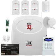 Kit Central Active 32 Duo Com 3 Ird 640 e 1 Ir Pet 520 Duo Jfl