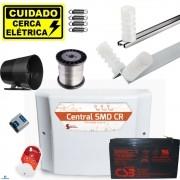 Kit Cerca Eletrica Para Terreno 10x20 Com Controle Remoto Smd Cr