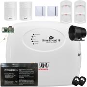 Kit Sistema de Alarme Monitorado Via Aplicativo Smartcloud 18 Jfl