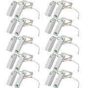 Pacote Com 20 Sensor Magnético Sobrepor Com Fio Na
