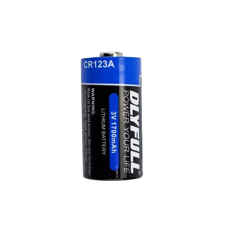 3 Baterias 3v Cr123a Lithium Para Sensor Sem Fio Jfl