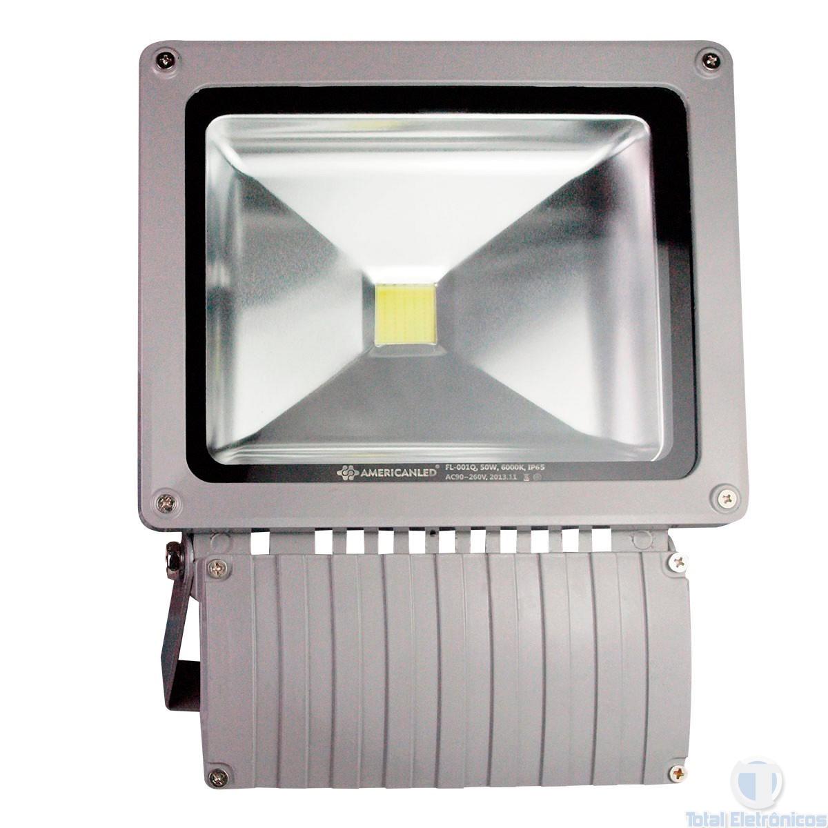 REFLETOR DE LED 50W 6000K BIVOLT