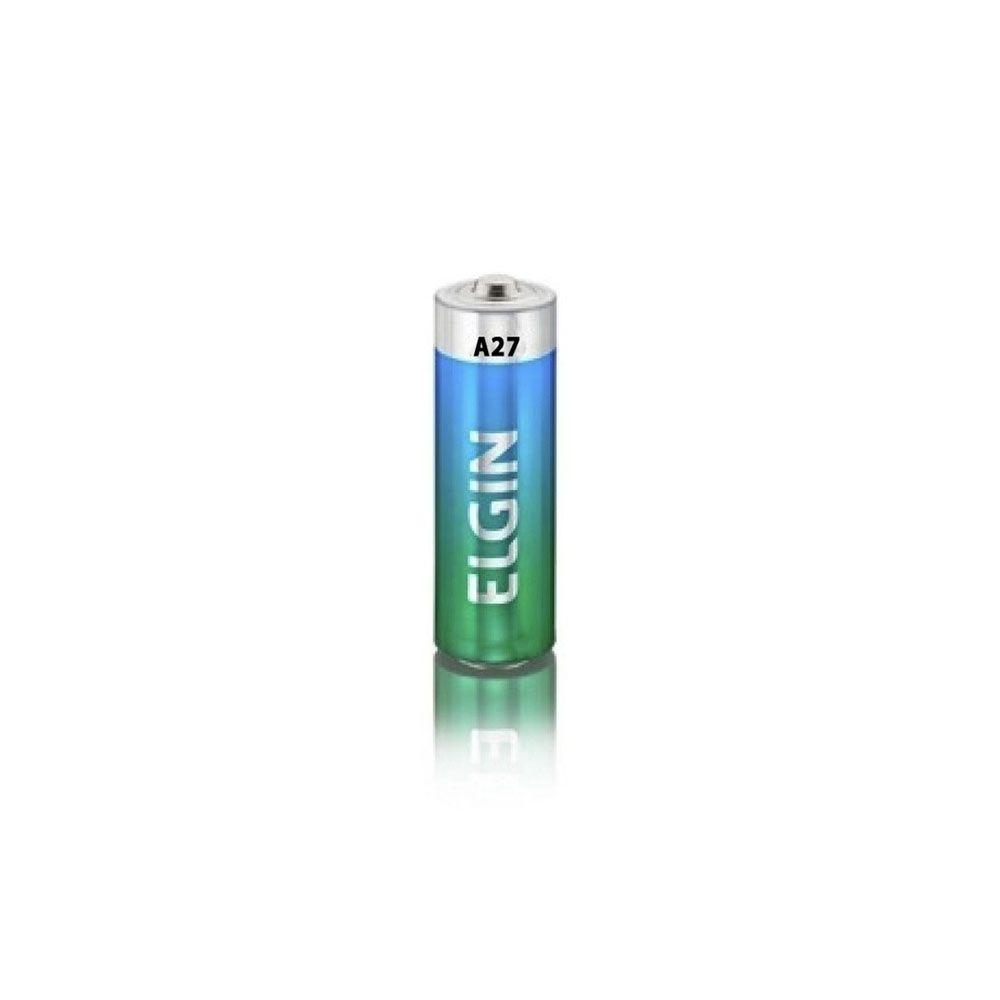 Bateria Alcalina 12v A27 Elgin