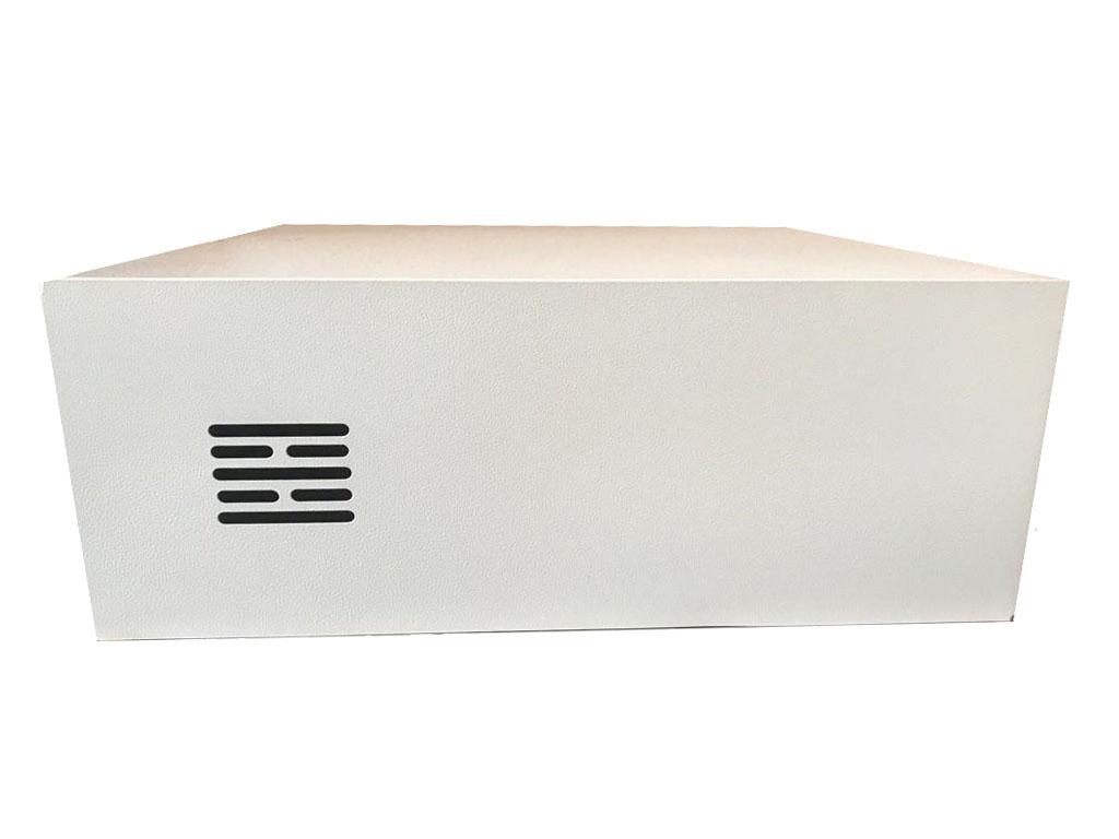 Caixa Metalica Para Dvr Rack Compact Mini 15 Branco