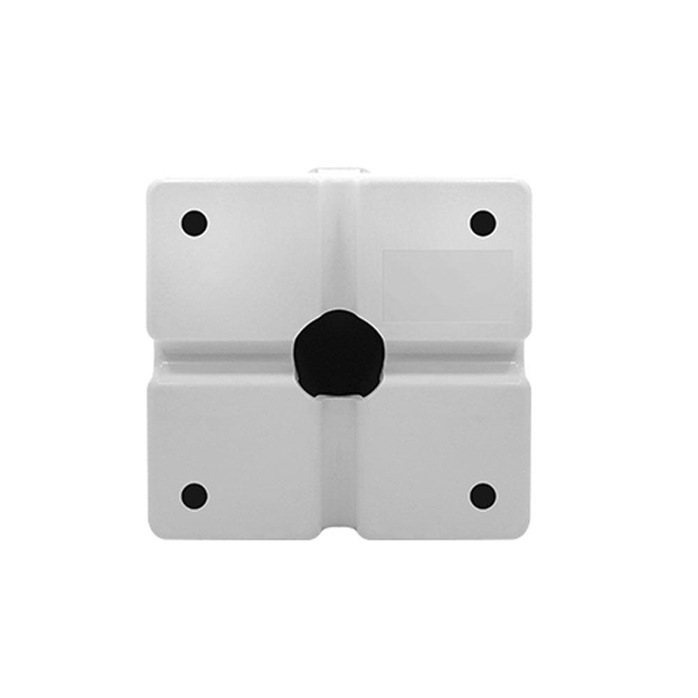 Caixa Organizadora Sobrepor Para Cftv 4x4 Quadrada 180°