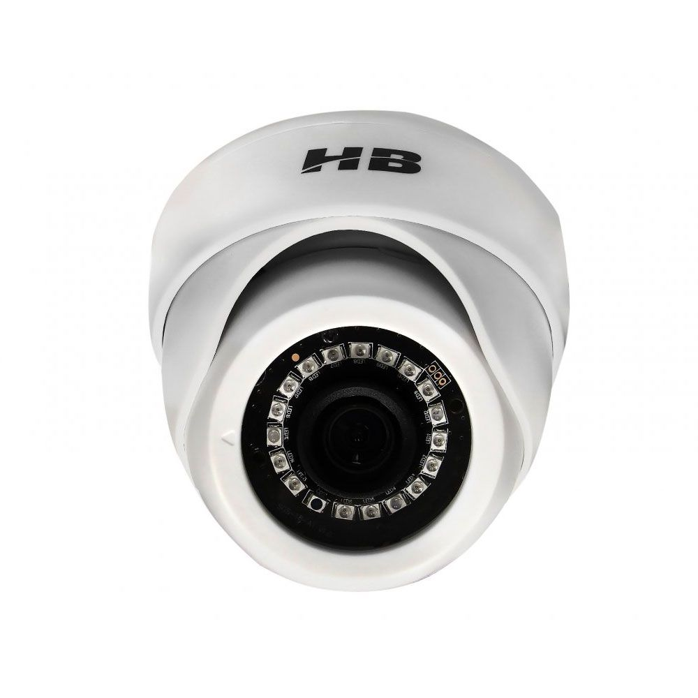 Camera Dome Infra 20Mts Full Hd 1080p Hibrida 4em1 Interna