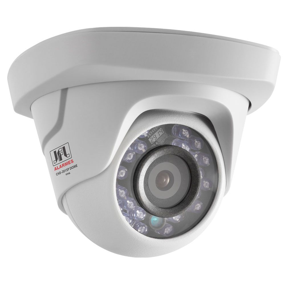 Camera Dome Infra Full Hd 1080p 4 Em 1 Lente 2.8mm Interna Chd 2115p Jfl