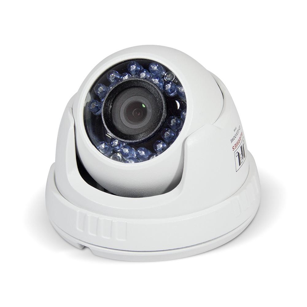 Camera Dome Hd 720p Metal Lente 2.8mm Tvi/Cvi/Ahd/Analogica Chd 1120m Jfl