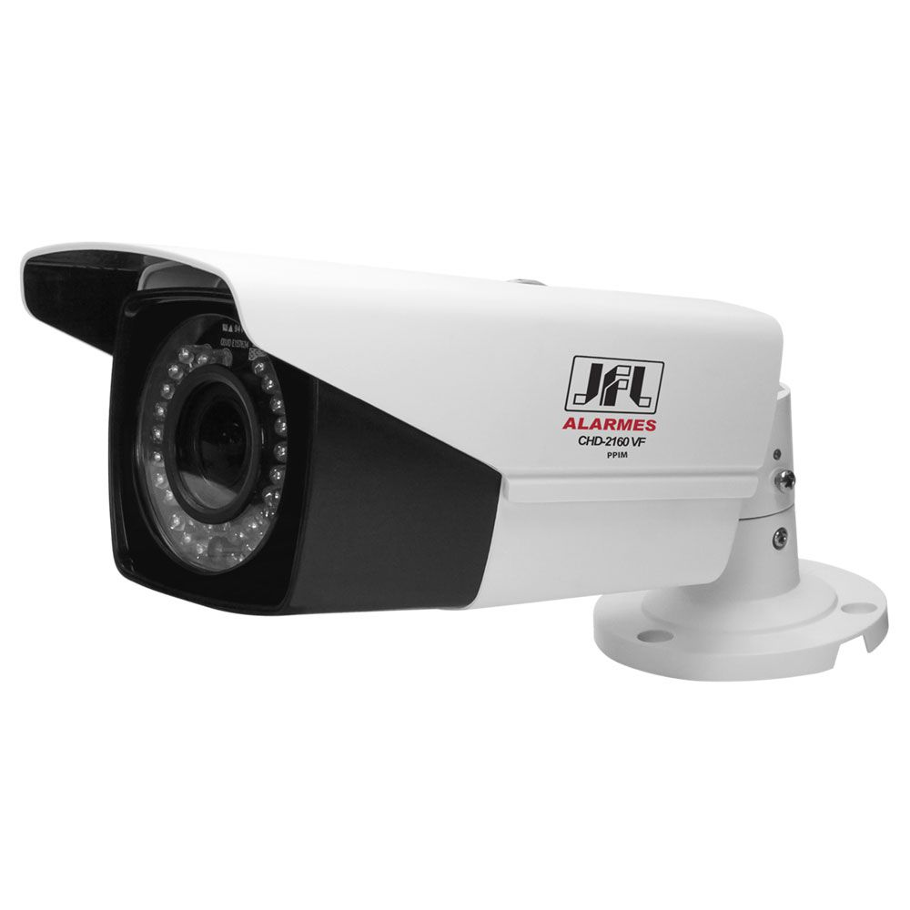 Camera Infra Varifocal Full Hd 1080p 60mts L2.8 A 12mm 4 Em 1 Chd 2160vf Jfl