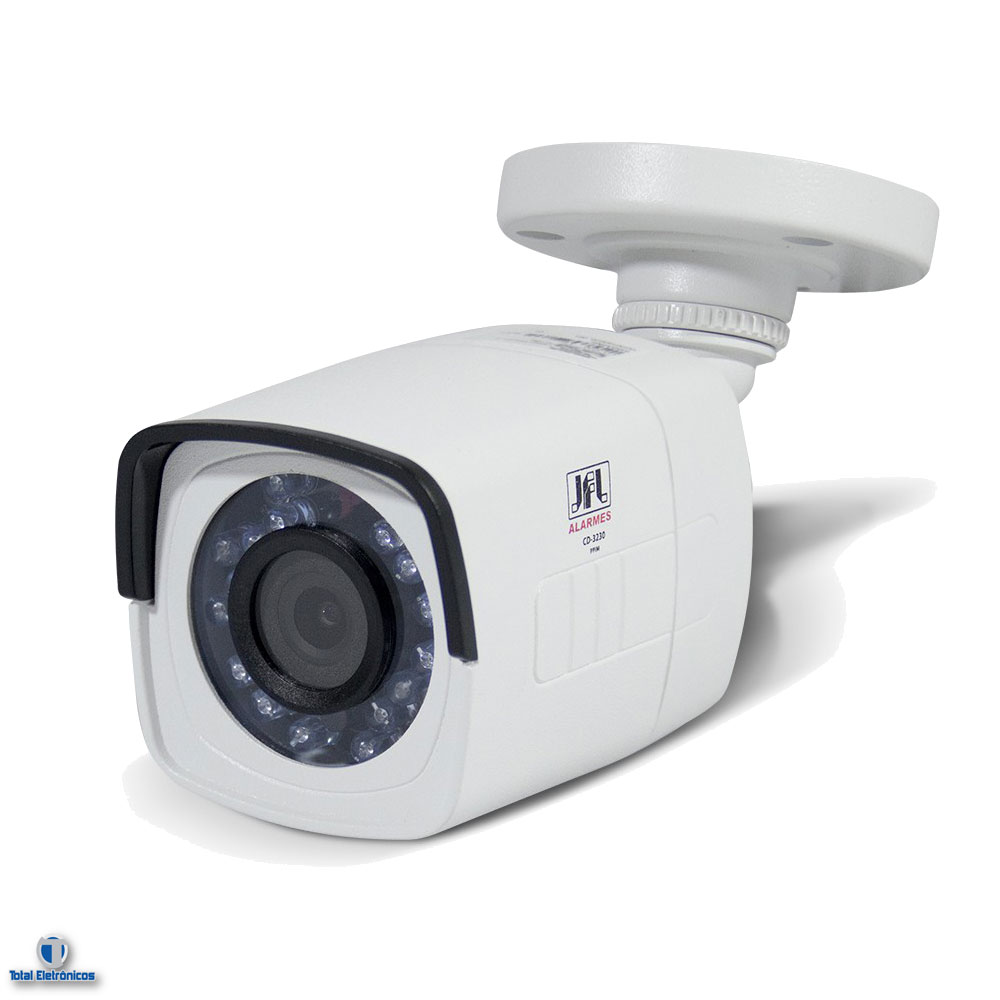 camera infravermelho full hd 3330f 1080p 2megapixels jfl. Black Bedroom Furniture Sets. Home Design Ideas