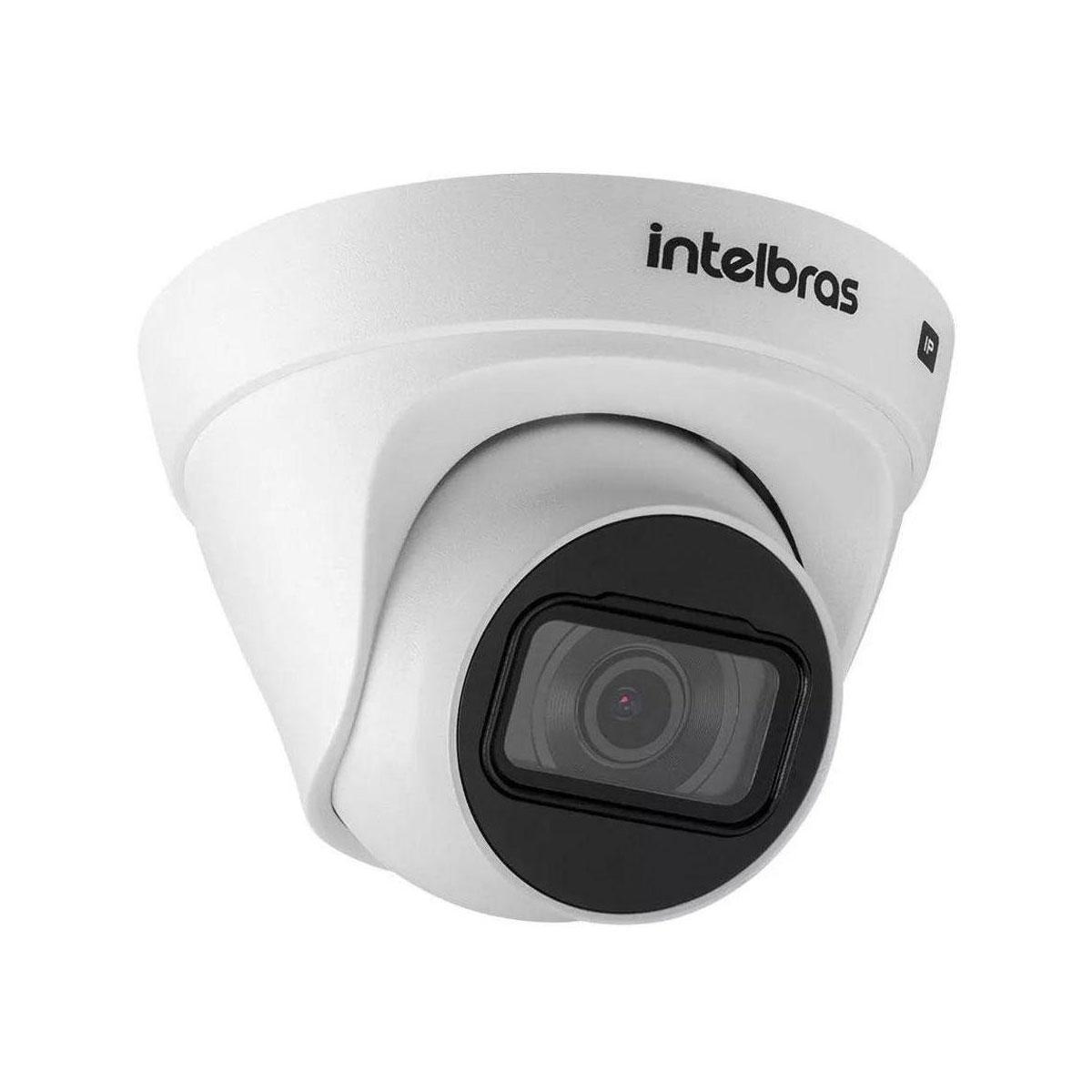 Câmera IP Intelbras VIP 1230 D Full HD 1080p PoE 2MP Dome Infravermelho 30 Metros