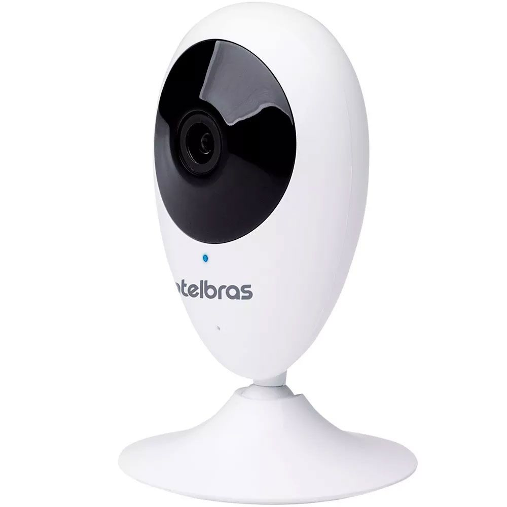 Camera Ip Wifi Sem Fio Intelbras Mibo Ic3 Hd 720p Com Audio
