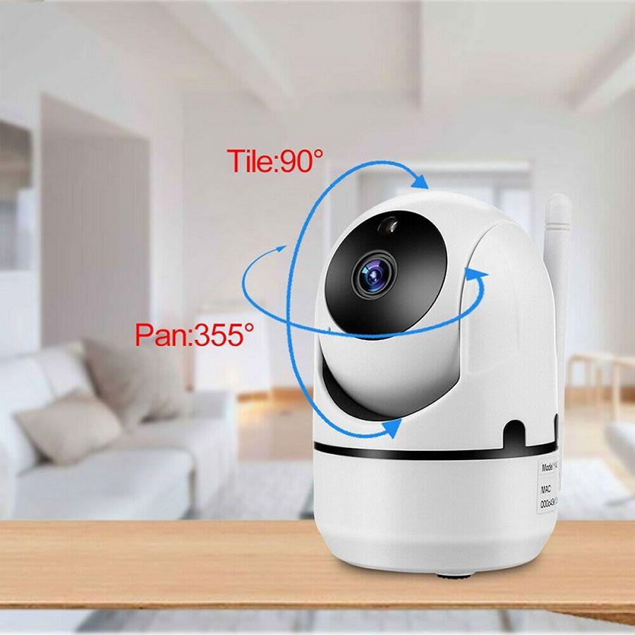 Câmera IP Wifi Varredura Automática Full HD 1080p Com áudio
