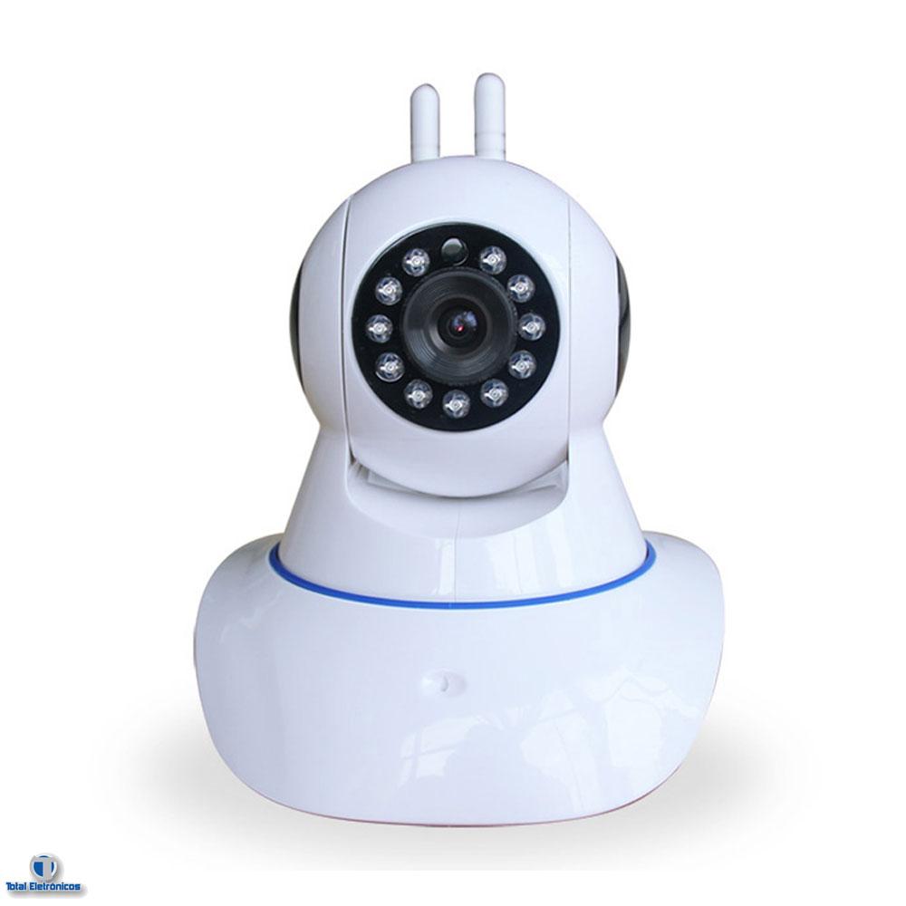 camera de seguran a ip sem fio wireless com infravermelho ircut. Black Bedroom Furniture Sets. Home Design Ideas