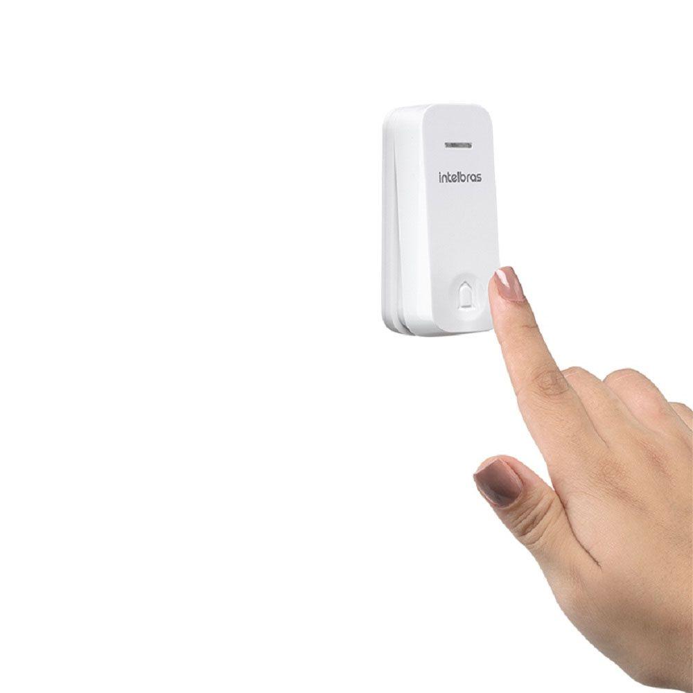 Campainha Eletrônica Sem Fio e Sem Bateria Cik 200 Intelbras