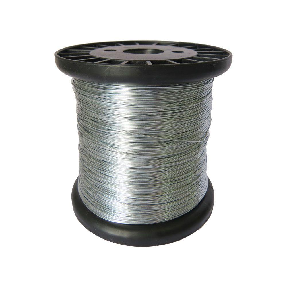 Carretel De Fio De Aço Para Cerca Elétrica 0,45mm