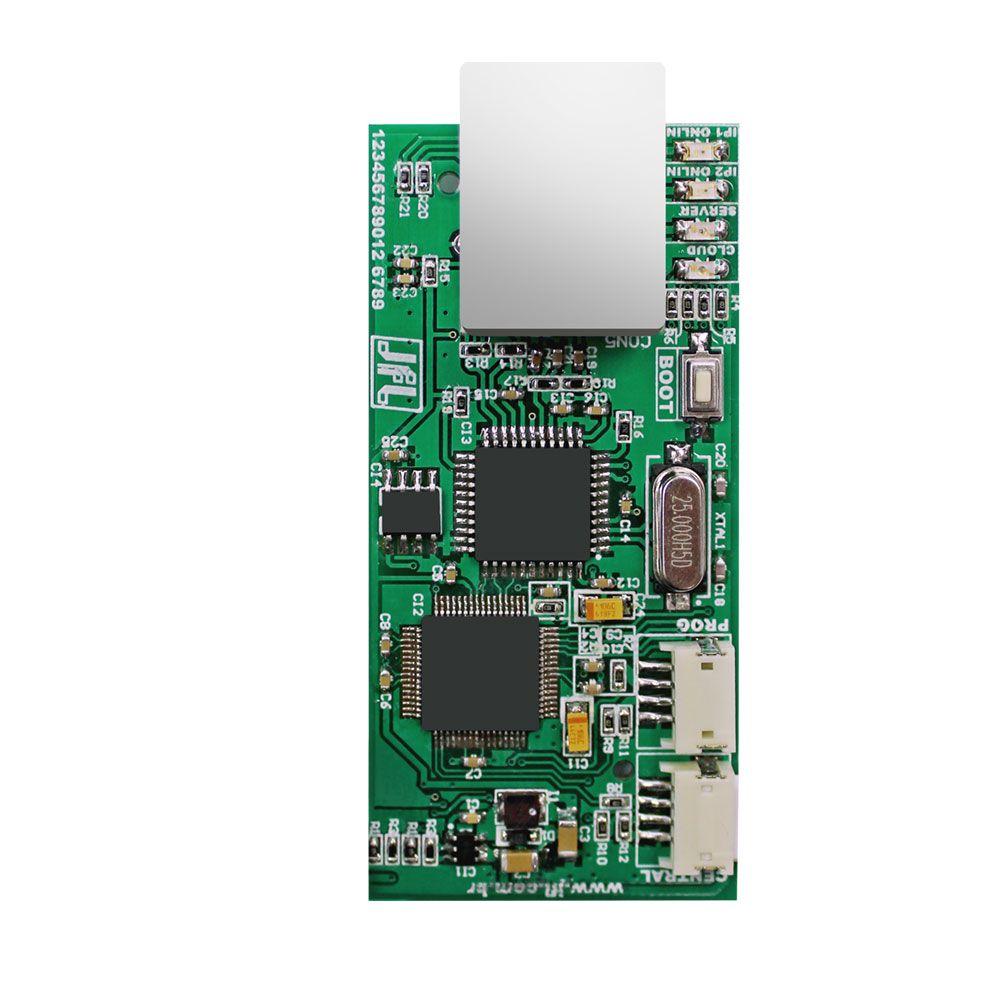 Central De Alarme Jfl Smartcloud 18 Com Modulo Ethernet Me04