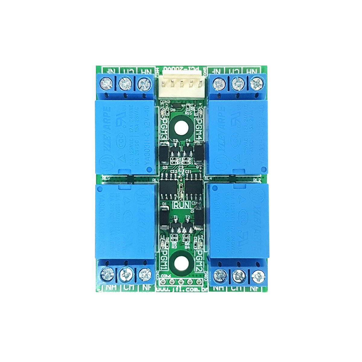 Central De Alarme Monitorada Active 20 Ultra Com Modulos E Ts 400