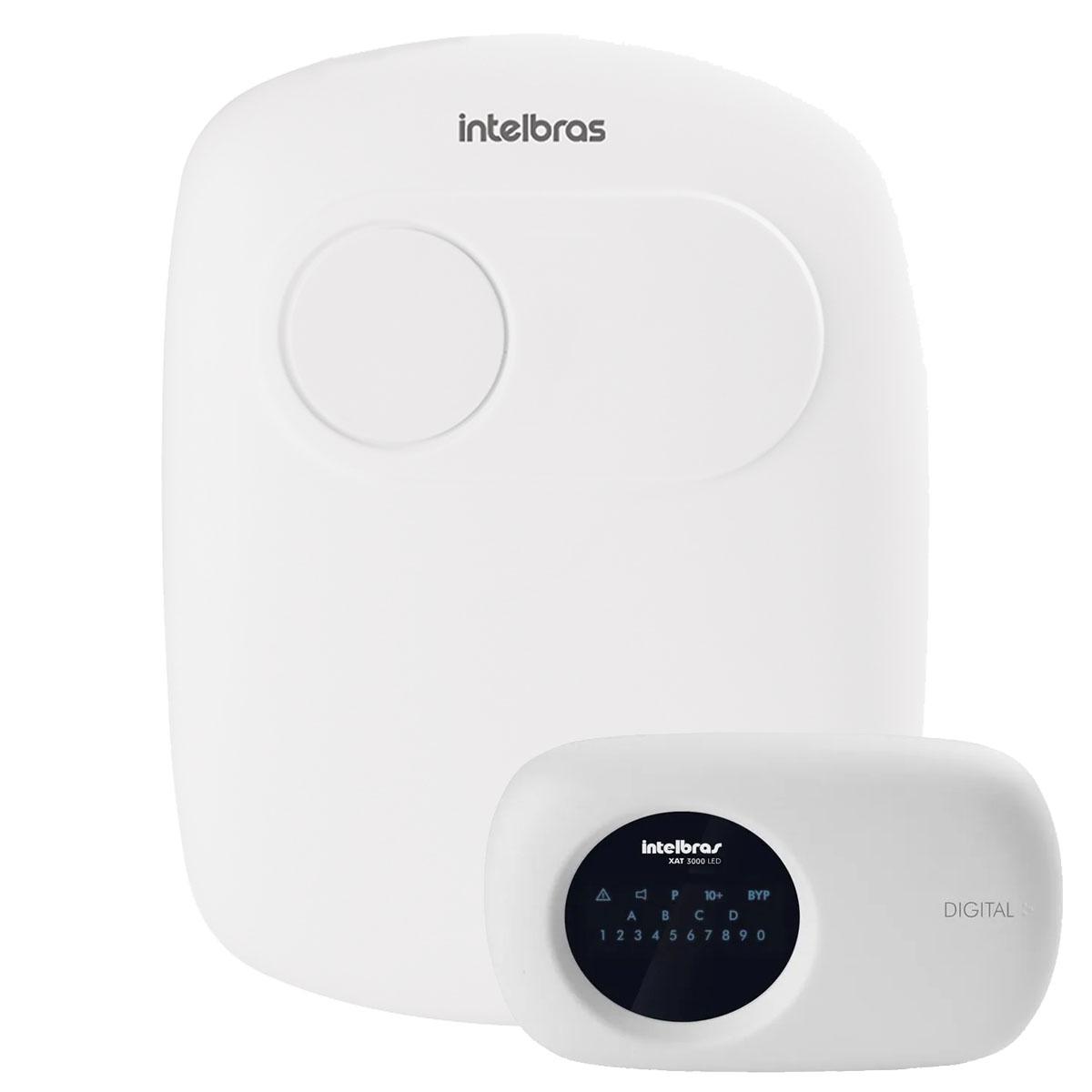 Central de Alarme Monitorada Intelbras Amt 2118eg Ethernet e Gprs