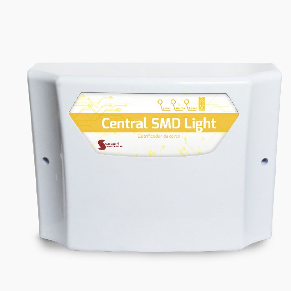 Central De Choque Eletrificador Para Cerca Eletrica Smd Light