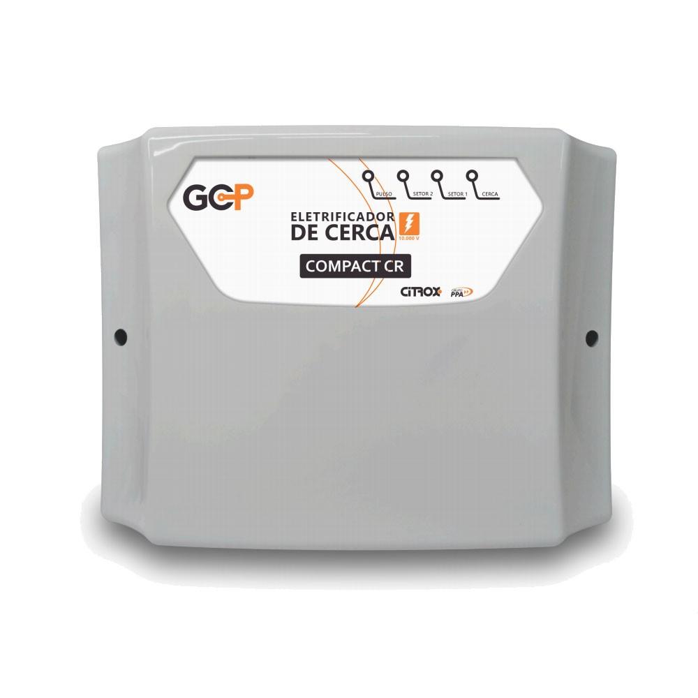 Central Eletrificador de Choque Para Cerca Elétrica Gcp Compact Cr