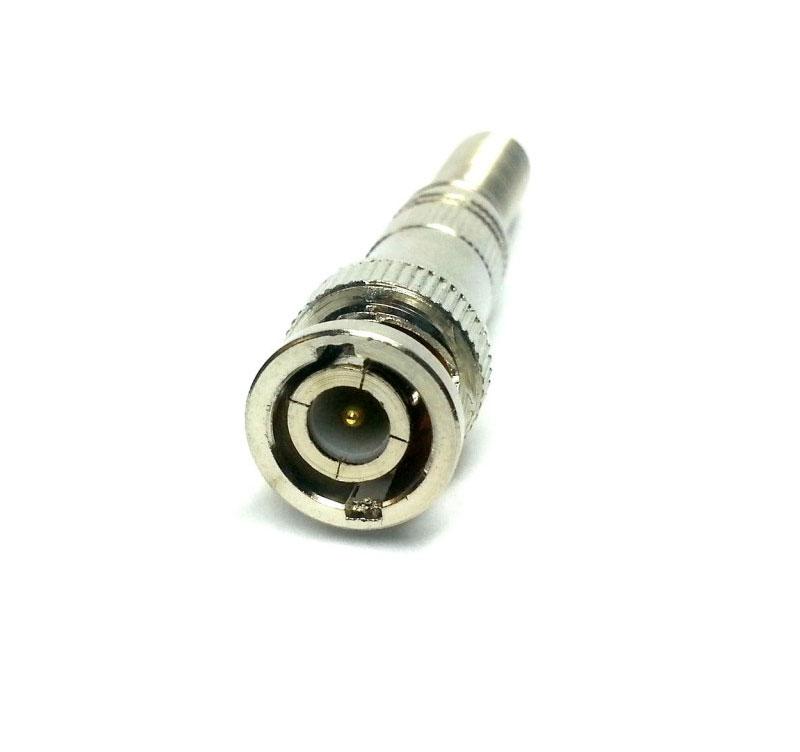 Conectores Cftv 12 Bnc Mola + 6 P4 Macho + 6 P4 Femea