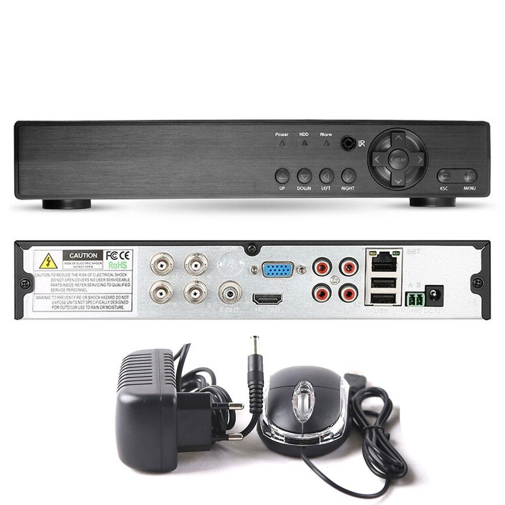 Dvr Gravador De Video 4 Canais 5Em1 1080P P2p Nuvem